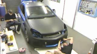 Opel Astra Mat Siyah Kaplaması
