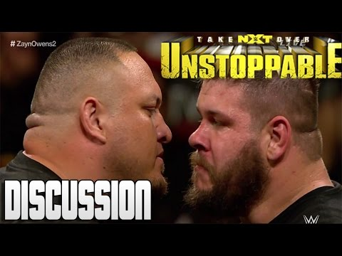 NXT TakeOver: Unstoppable - SAMOA JOE DEBUTS IN NXT!!
