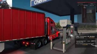 American Truck Simulator Moviendo Cargas de Nuevo