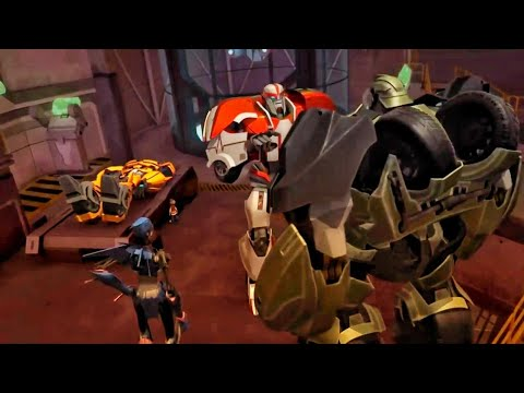 Transformers Prime Season 2 Episode 05 Operation Bumblebee Part 2  [Transformers Prime in hindi]