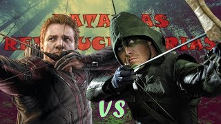 Arrow VS Hawkeye l Batallas Revolucionarias Rap l T Final l TWS ft. Juni Crazy
