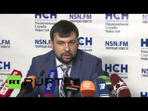 "Russia: ""Huge thanks for Russia aid but more is needed"" Pushilin says"