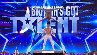 Download Lagu Britains Got Talent 2018 Giang Brothers Masterful Balancing Act Full Audition S12E02 Gratis STAFABAND