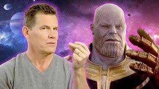 Josh Brolin Tells Us How To Do the Thanos Snap