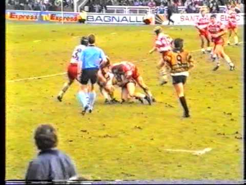 1994 Regal Trophy Final Castleford v Wigan.