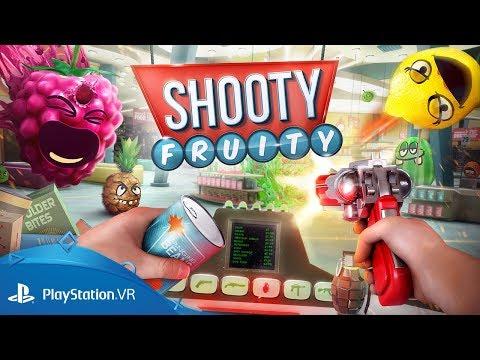 Shooty Fruity | Release Date Trailer | PlayStation VR