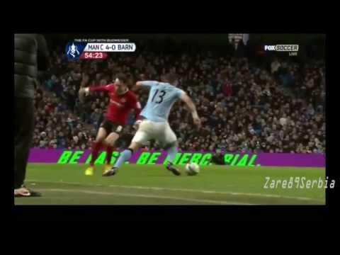 Aleksandar Kolarov || #13 || Manchester City HD