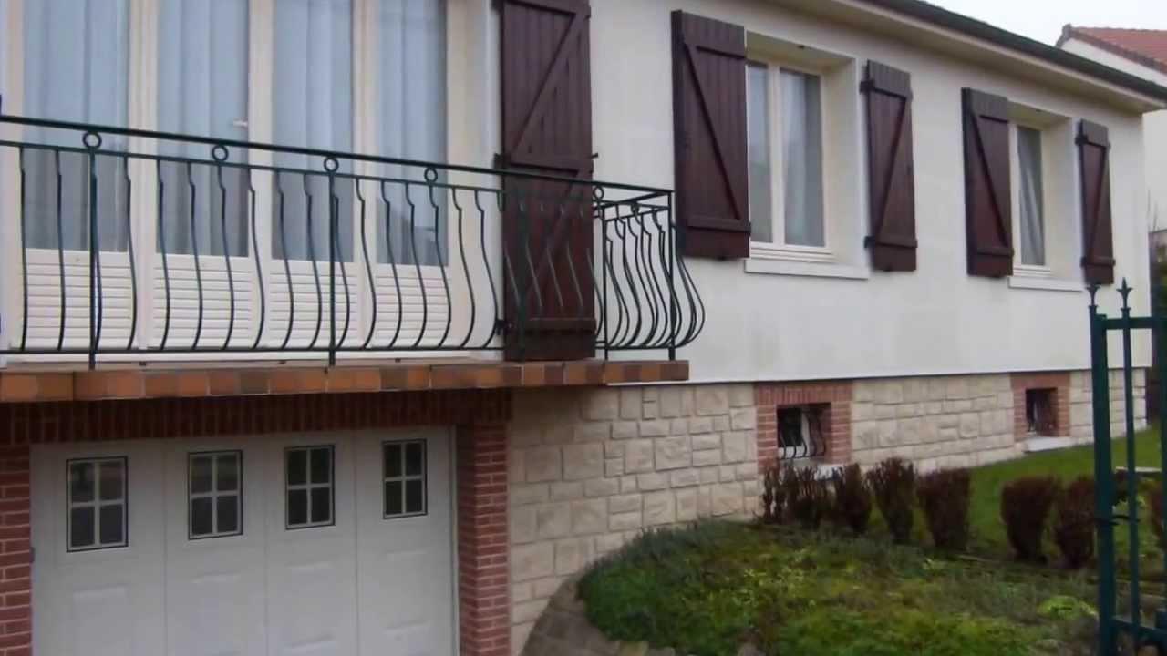 Porte de garage lat rale coulissante n o10 youtube - Montage porte garage coulissante ...