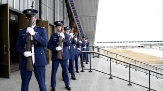 21 Gun Salute for Cadet Williams