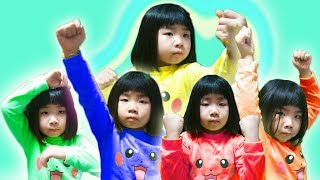 Learn Colors with Balloons/Finger Family Song 4 풍선 색깔놀이