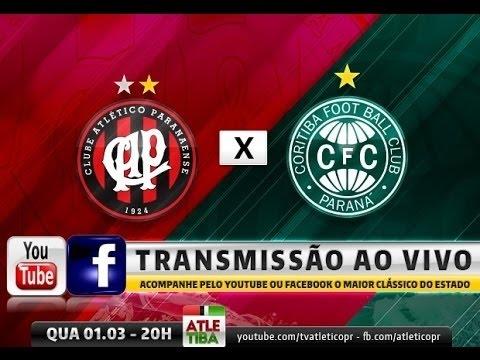 ATLETIBA - Atlético x Coritiba - FINAL do Campeonato Paranaense AO VIVO thumbnail