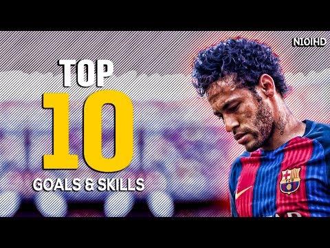 Neymar - Invisible ● Top 10 Goals & Top 10 Skills 2017 ● Best Skills & Goals 2016-2017 HD