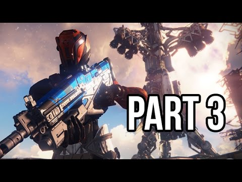 Destiny Gameplay Walkthrough - Part 3 Beta - Campaign Mission 3 (PS4/XB1 1080p HD)