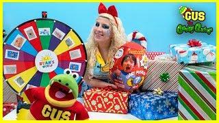Mystery Wheel of Christmas Presents Opening Challenge!!!