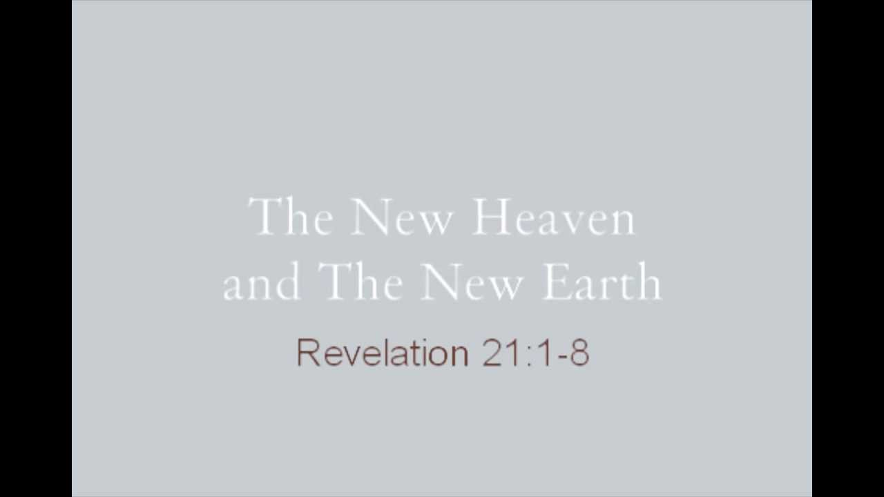 Revelations 21 1 8 Earth Revelation 21 1 8