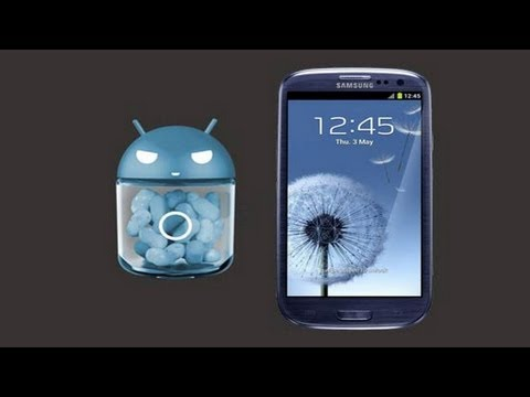 CyanogenMod 10 for Samsung Galaxy S3 - Preview