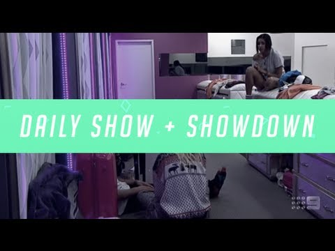 Big Brother Australia 2013 - Daily Show + Showdown - Episode 41 - Thursday 12/09/13