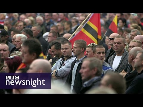 The far right on the rise in Germany - Newsnight