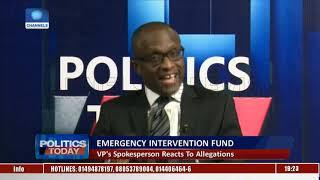 Emergency Intervention Fund: VP's Spokesperson Reacts To Allegations |Politics Today|