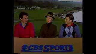 1985 Bing Crosby Pro-Am Opening on USA-CBS