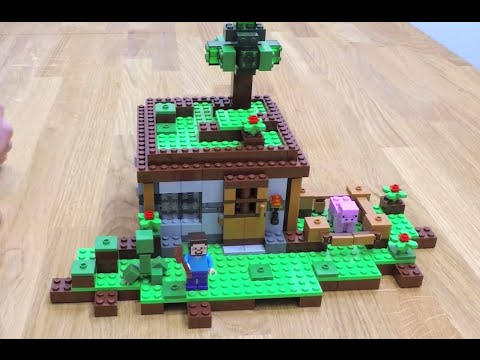 LEGO Minecraft The First Night 21115 Designer Video YouTube