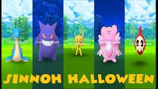 Pokemon Go Sinnoh 4th Gen Halloween Aftermath - All Shiny & Rare Catches