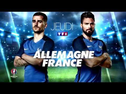 Bande Annonce - Euro 2016 - France / Allemagne