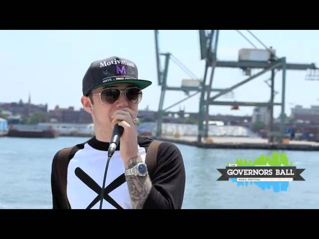 Mac Miller interview on ferry to Governors Ball