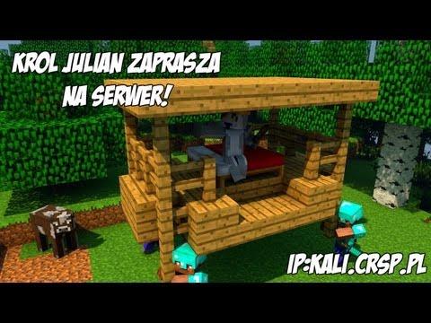Król Julian zaprasza na Nowy Serwer Minecraft