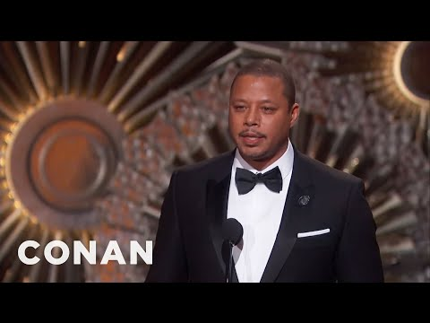 More Academy Awards Audio Snafus  - CONAN on TBS