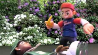 Rob Dyrdek's Wild Grinders Stop Motion - Banana Peels ain't for Skatin' On!