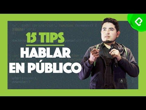 15 reglas para hablar en público | Curso de Oratoria y Hablar en Público