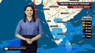 Weather Forecast Nov 16: Snow in Gulmarg, rain in Chennai and Bengaluru, toxic air in Delhi