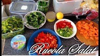 Rucola Salat mit 65g Eiweiß - Ernährungstipps #9