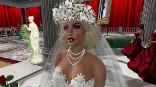 Jake & Maria Second Life Wedding - 6.30.17