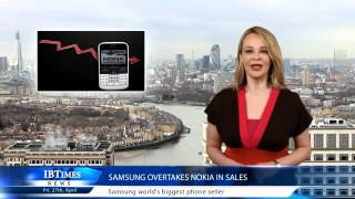 Samsung overtakes Nokia in sales