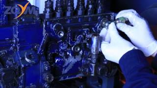 Instruction on How to repair mechanical diesel injector fuel pump with mechanical test bench