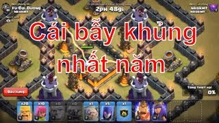 NMT| Clash of clans| Cái bẫy khủng nhất năm hall 9 quân nào có thể vượt qua