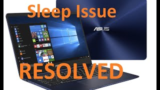 100% Working - Asus Laptop Restarting From Sleeping Mode Issue - RESOLVED
