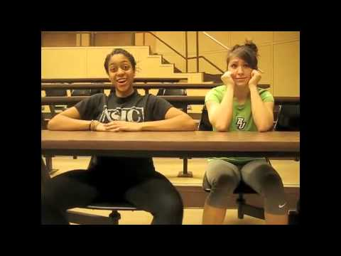 "Ke$ha ""Your Love is My Drug"" Music Video (Cover) Binghamton Women's Track and Field 2012"