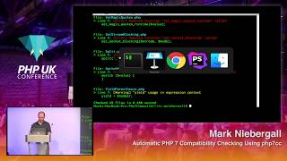 PHP UK Conference 2018 - Mark Niebergall - Automatic PHP 7 Compatibility Checking Using php7cc