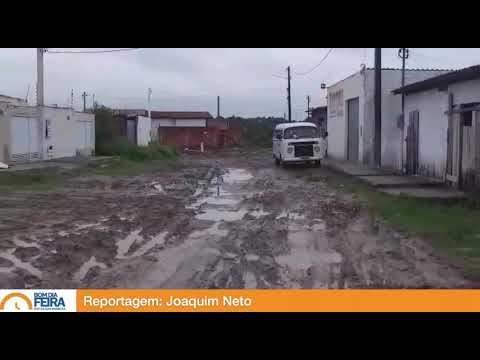 Moradores reclamam de estado da rua Lagoa Verde, na Conceição II