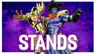 Jojo's Bizarre Adventure: Stands as a Power System