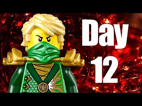 Custom LEGO Ninjago Advent Calendar 2013 Day 12 Review