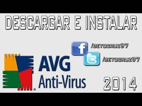 Cómo descargar e instalar Antivirus AVG 2013 full + licencia hasta el 2018