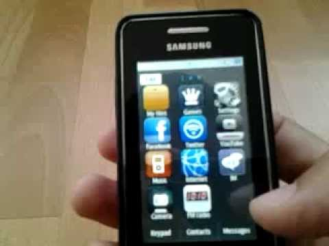 Samsung Gt-s5260 Different Themes video