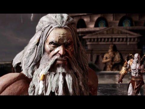 Zeus vs Kratos Full Boss Fight (God of War 3 Remastered) Final Boss 1080p 60FPS HD