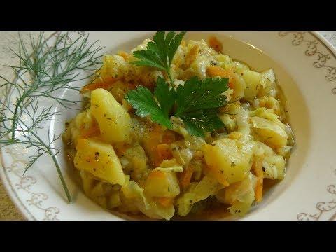Рагу из овощей/Тушеные овощи/Постный рецепт