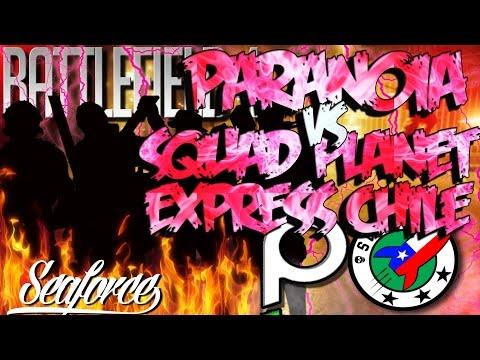 Battlefield 4 l PaRaNoiA vs Squad Planet Express Chile l