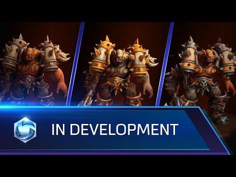 In Development: Garrosh, Skins, Mounts, and more!